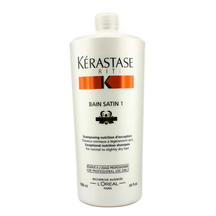 KerastaseNutritive Bain Satin 1 Exceptional Nutrition Shampoo (For Normal to Slightly Dry Hair)ケラスターゼNU バンサテン【海外直送】