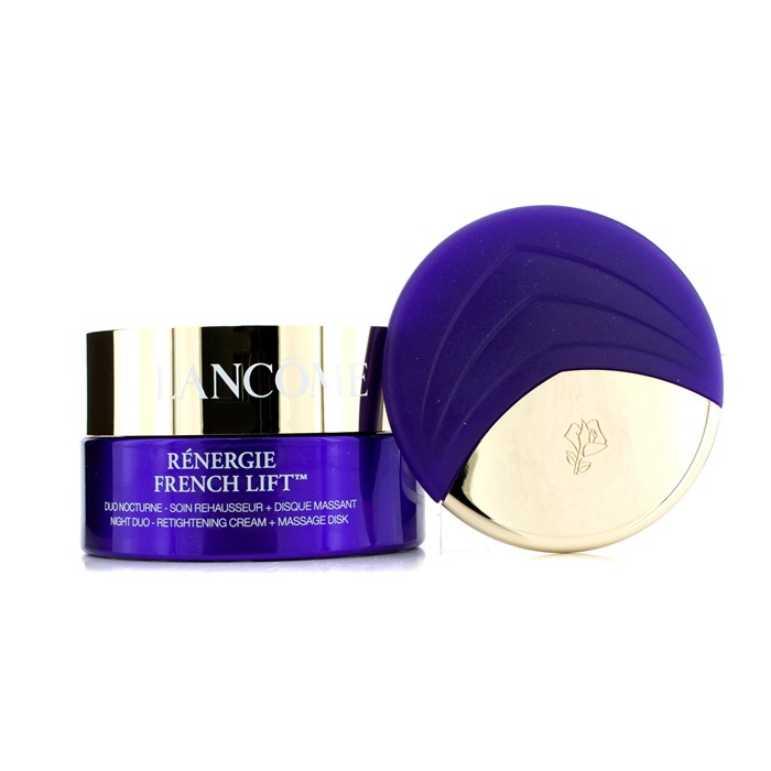 LancomeRenergie - - French Lift: Night Duo - FL Retightening Cream + Massage Diskランコムレネルジー FL ナイトクリーム - レネルジー マッサージ【海外直送】, Quelle:79ced35e --- officewill.xsrv.jp
