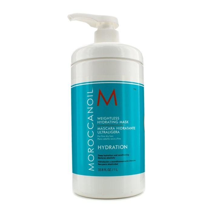 MoroccanoilWeightless Hydrating Mask (For Fine Dry Hair)モロッカンオイルウェイトレス ハイドレーティング マスク (細くて乾燥した髪用) 1000ml/33.8o【海外直送】