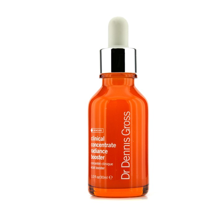 Dr Dennis Gross Clinical Concentrate Radiance Booster ドクターデニスグロス クリニカルコンセントレート ラディアンスブースター 30ml/1oz 【海外直送】