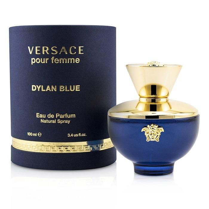 Versace Dylan Blue Eau De Parfum Spray ヴェルサーチ Dylan Blue Eau De Parfum Spray 100ml/3.4oz 【海外直送】