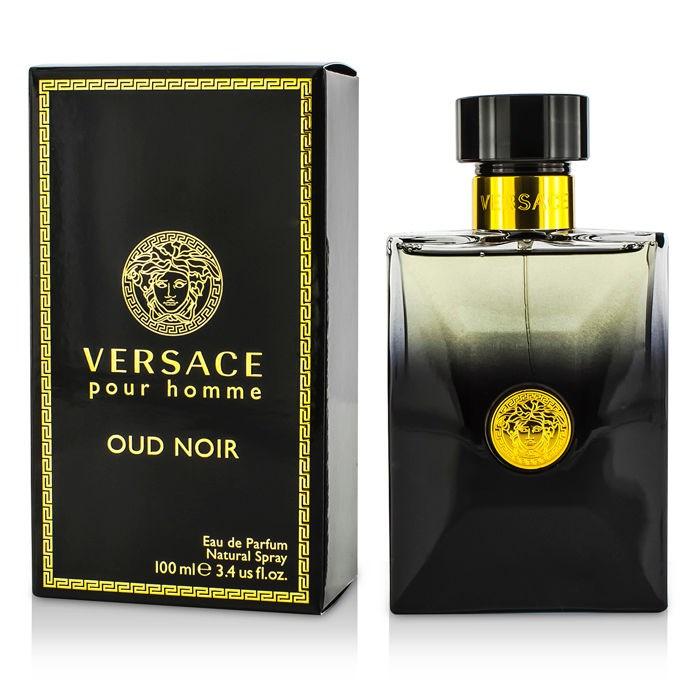 Versace Oud Noir Eau De Parfum Spray ヴェルサーチ Oud Noir Eau De Parfum Spray 100ml/3.4oz 【海外直送】