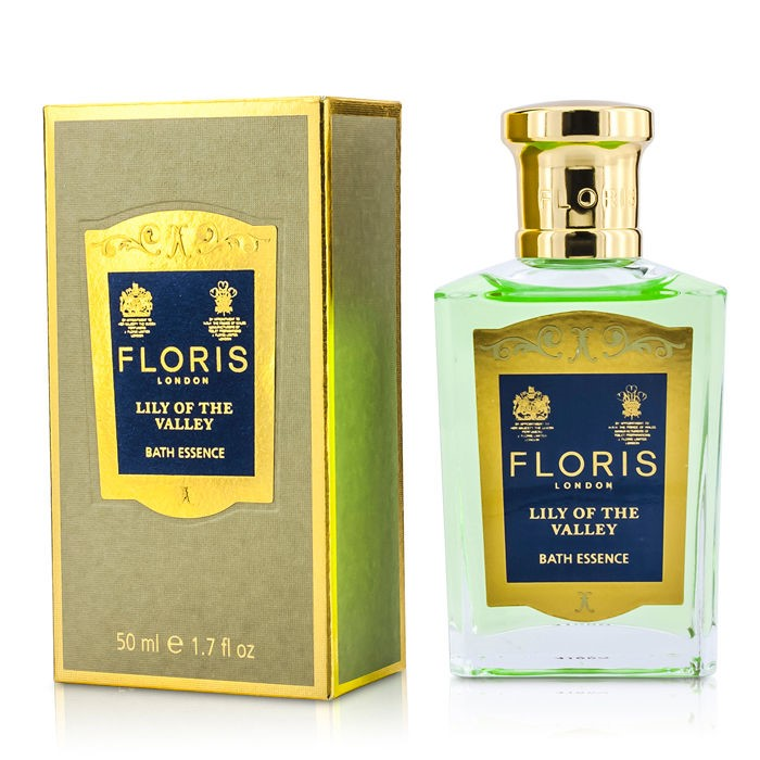 Floris Lily Of The Valley Bath Essence フローリス リリーオブザバレー バスエッセンス 50ml/1.7oz 【海外直送】