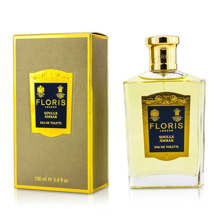 FlorisSoulle Ambar Eau De Toilette SprayフローリスSoulle Ambar Eau De Toilette Spray 100ml/3.4oz【海外直送】