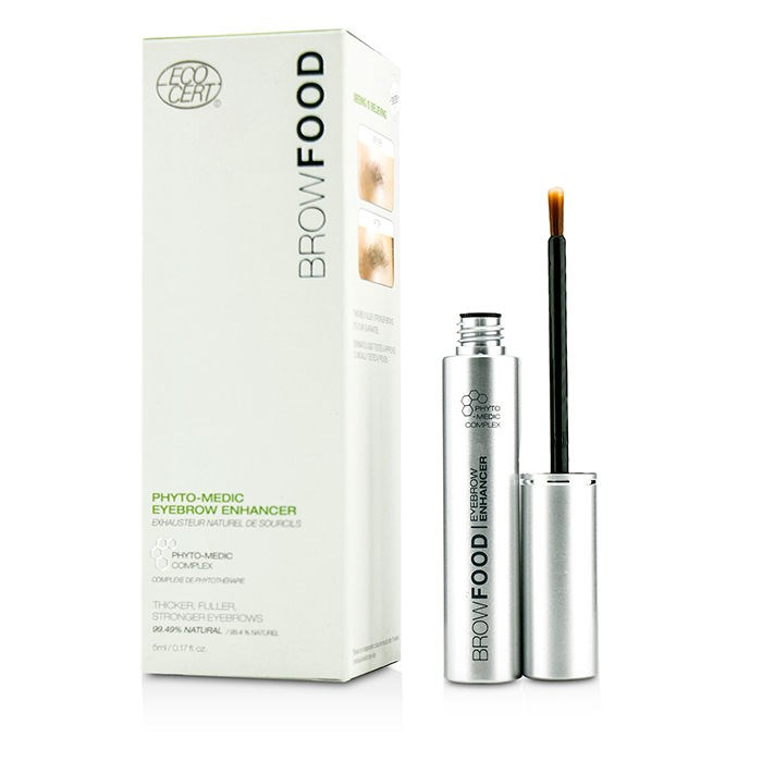 LashFoodBrowFood Phyto Medic Eyebrow Enhancer (3 Month Supply)ラッシュフードブロウフード フィトメディック アイブロウエンハンサー (3か月分) 5ml/0【海外直送】