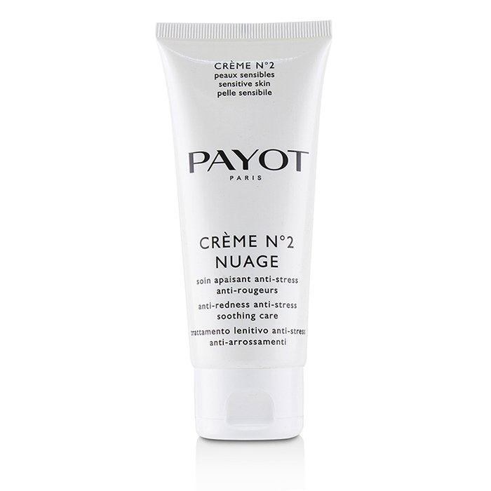 Payot Creme No 2 Nuage Anti-Redness Anti-Stress Soothing Care (Salon Size) パイヨ Creme No 2 Nuage Anti-Redness 【海外直送】