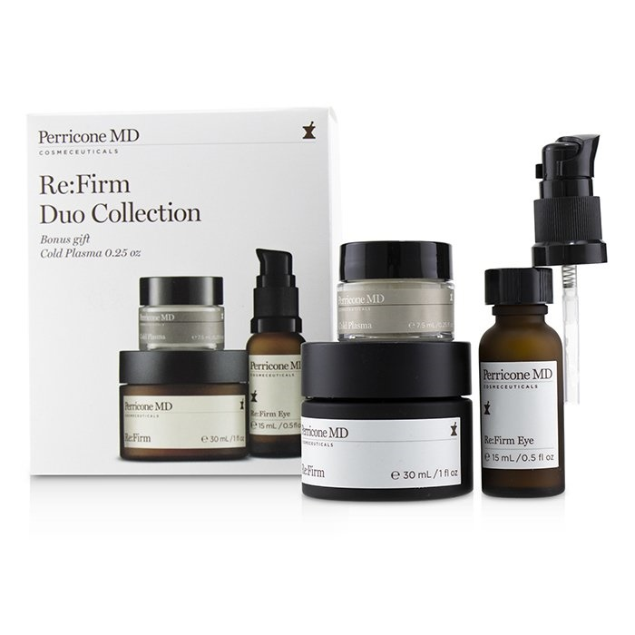 Perricone MD Re:Firm【海外直送】 Duo Collection : Re:Firm + 30ml + 7.5ml Re:Firm Eye 15ml + Cold Plasma 7.5ml ドクターペリコン Re:Firm D【海外直送】, 倉敷ビッグアメリカンショップ:7c984814 --- officewill.xsrv.jp