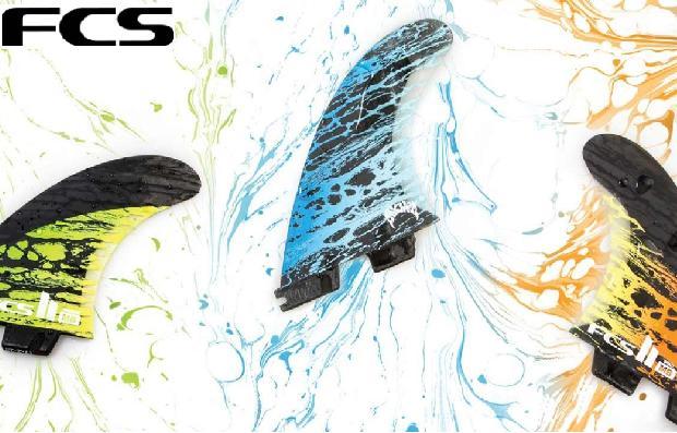 サーフボードフィン【FCS】エフシーエスから FCS2 メイヘム Matt 'Mayhem' Biolos's 2018年 新モデル発売!FCS II MB PC Carbon Tri Set
