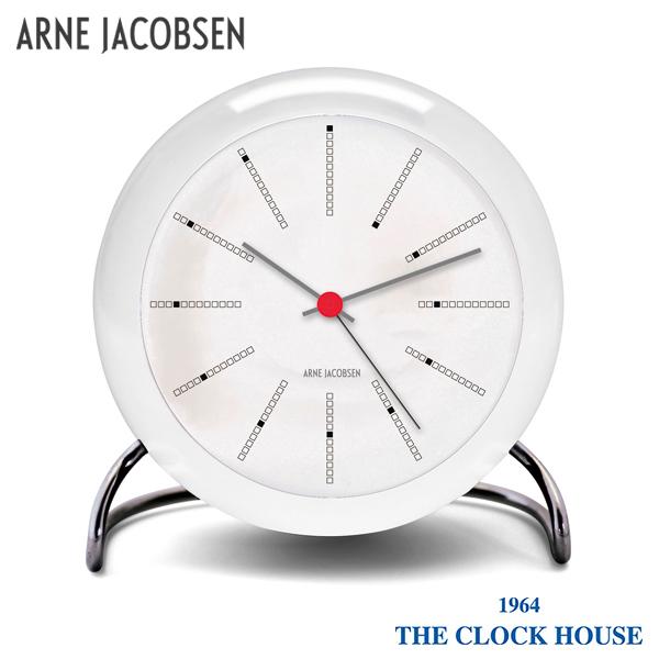アルネヤコブセン バンカーズ 置時計 テーブルクロック ARNE JACOBSEN Bankers Table Clock AJ43675 インテリア