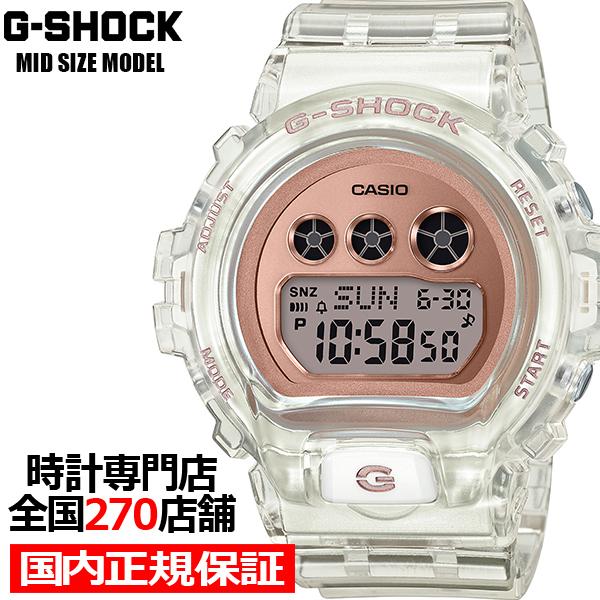 【ポイント最大51倍&最大2000円OFFクーポン】《2月7日発売》G-SHOCK ジーショック ミッドサイズ スケルトン GMD-S6900SR-7JF メンズ レディース 腕時計 デジタル 国内正規品 カシオ 男女兼用