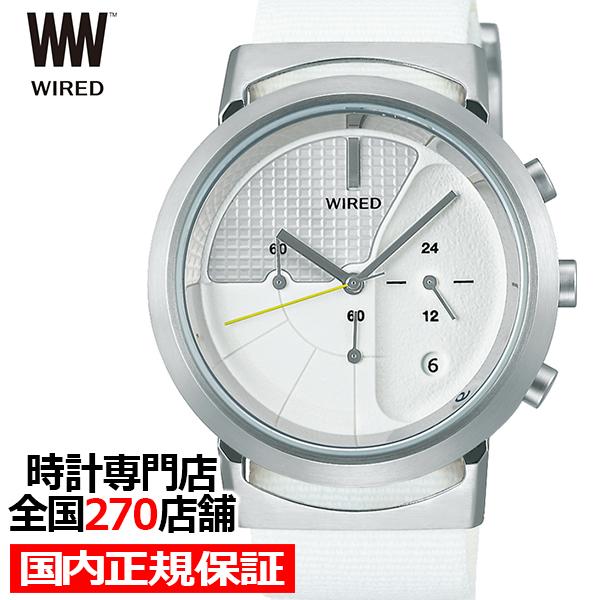 【ポイント最大57倍&最大2000円OFFクーポン】セイコー ワイアード WW ツーダブ TYPE03 タイプ3 AGAT434 メンズ 腕時計 クオーツ ホワイト