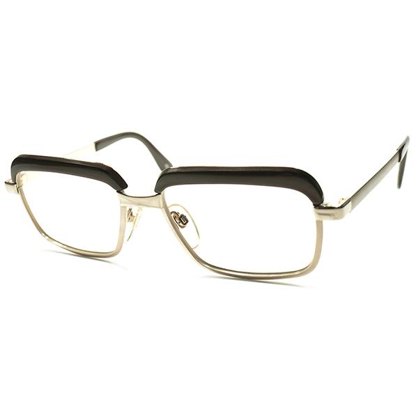 BAUHANUS形跡ゲルマンCLASSIC DESIGN 西ドイツ製 1960s-70s RODENSTOCK ローデンストック 激渋モデルCONSTANTIN 本金張り GOLDxTRUFFLE デッドストック a5449 ビンテージヴィンテージ 眼鏡メガネ ブロータイプ