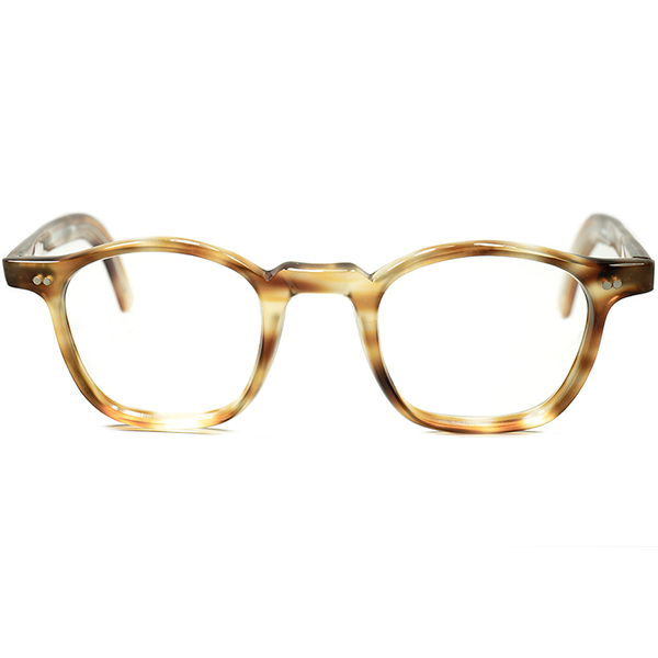 高美意識 BLONDE生地採用 デッドストック 1950s フランス製6mm厚 FRENCH ARNEL フレンチアーネル FRAME FRANCE フレンチ ビンテージ 眼鏡 メガネ a5452