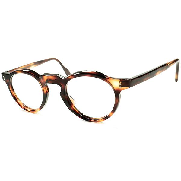 人気ブランドを 超実用的SPEC べーシック定番 FRENCH デザイン 1950s-60sフランス製 デッドストック FRAME FRANCE キーホール PANTO ボストン 丸眼鏡 メガネ a5521 ビンテージ 眼鏡 メガネ, 杉の家 16923720