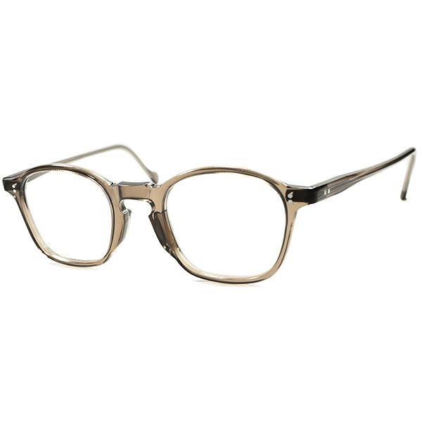 高需要 枯渇シェイプ 1950s デッドストック DEADSTOCK FRAME FRANCE フレーム フランス フランス製 キーホールFRENCH ARNEL フレンチ アーネル BROWN CRYSTAL ビンテージヴィンテージ 眼鏡メガネ a5697