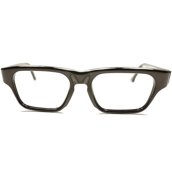 デイリーユース可 快適SPEC 良質フレンチビンテージ 1960s DEADSTOCK デッドストック フランス製 MADE IN FRANCE キーホールMINIMAL TASTE ウェリントン トリュフ色 ビンテージヴィンテージ 眼鏡メガネ a5715