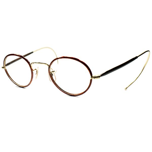 ストレスフリー128mmFRONT過去最大級GOOD SIZE極上個体 1940s-50s英国製 イギリス製 HADLEY CO OUTLET SALE FULLセル巻金張りPANTO ビンテージ アンティーク 24 毎日激安特売で 営業中です 眼鏡#160;メガネ ビンテージ#160;ヴィンテージ 丸メガネ a5721 実寸44 ラウンド 丸眼鏡