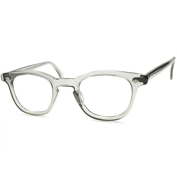 ミルスペック USミリタリー供給モデル デッド級TOPランク個体 1950s- 1960s AO アメリカンオプティカル製 AMERICAN OPTICAL ARNEL アーネル型 ウェリントン ビンテージ 眼鏡 メガネ 46/24 a5779