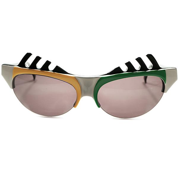 世界観全開 初期作品アートピース 1980s デッドストック HAND MADE フランス製 アランミクリ alain mikli トーテムポールINSPIRE ビンテージサングラス 眼鏡 メガネ a5844