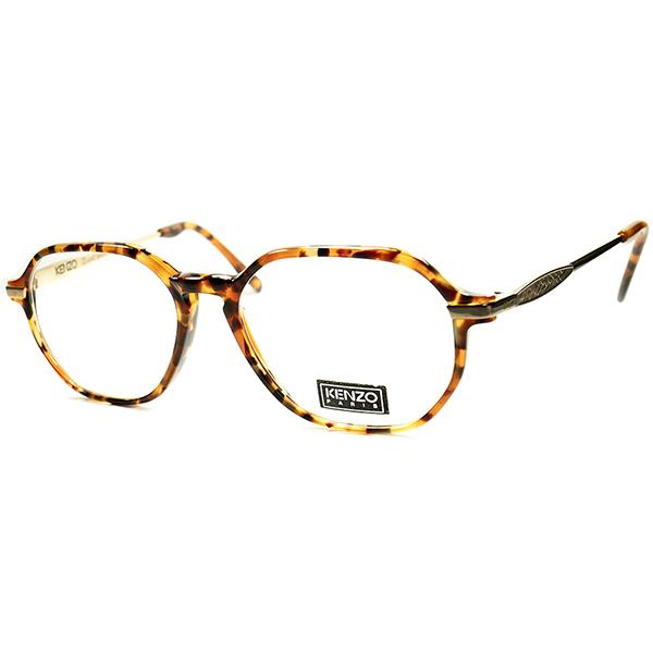CLASSIC VINATGE インスパイア 1980s-90s フランス製 デッドストック KENZOケンゾー KEYHOLE コンビネーションHYBRID クラウンパント ビンテージヴィンテージ 眼鏡メガネ a5924