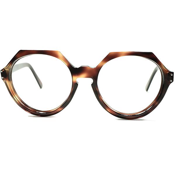 オールド質感KEEP 超大振サイズ斬新個体 1960s FRAME FRANCE フレーム フランス フランス製 デッドストック DEADSTOCK SUPER LARGE ジャイアント クランパント CROWN PANTO ビンテージヴィンテージ 眼鏡メガネ a5927