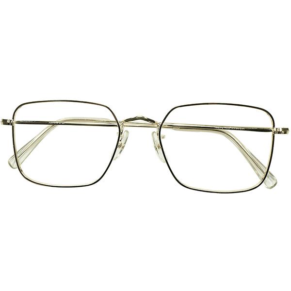 未体験歪形状 ULTRA RARE 五角形モデル 1960s-70s デッドストック DEADSTOCK 英国製 ALGHA 本金張 12KTGF ペンタゴン PANTAGON size 52/20 ビンテージヴィンテージ 眼鏡メガネ A5933