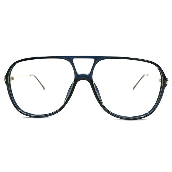 革新素材OPTYL デッドストック 1980s ドイツ製 MADE IN GERMANY CHRISTIAN DIOR クリスチャンディオール 希少色 DARK NAVY 濃紺 アビエーター ヴィンテージ 眼鏡 サングラス A4614