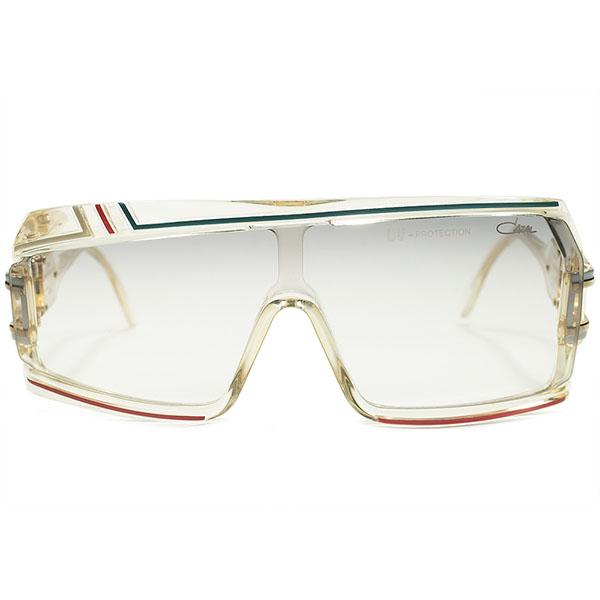 伝説的モデル電撃入荷 最高峰デッドストック 1980s 西ドイツ製 MADE IN WEST GERMANY オリジナル カザール CAZAL mod858 アシンメトリーサングラス size61/21 ビンテージヴィンテージ 眼鏡メガネ A4647
