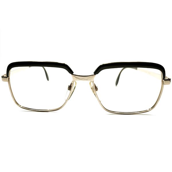 実質剛健レトロSPEC デッドストック 1960s-1970s 西ドイツ製 MADE IN WEST GERMANY RODENSTOCK ローデンストック CORREL 1/20-10K GOLD 本金張 コンビネーション ビンテージヴィンテージ 眼鏡メガネ 56/16 A5086