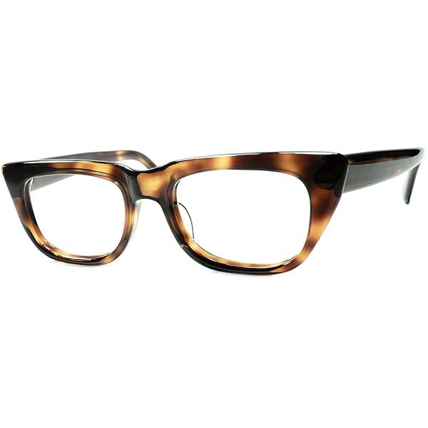実用的DREAMINGアップデート 1960s デッドストックDEADSTOCK 西ドイツ製 RODENSTOCK ローデンストック製 別名義ブランドIMPERIAL傑作モデルROCCO同一モデルビンテージヴィンテージ 眼鏡メガネ 46/20 a6642