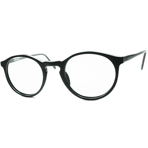SIMPLE IS THE BEST 1980sフランス製 デッドストック 初期作品 FRAME FRANCE時代 フレーム フランス l.a.Eyeworksアイワークス KEY HOLE ボストンMATT BLACK ビンテージヴィンテージ 眼鏡メガネ a6842