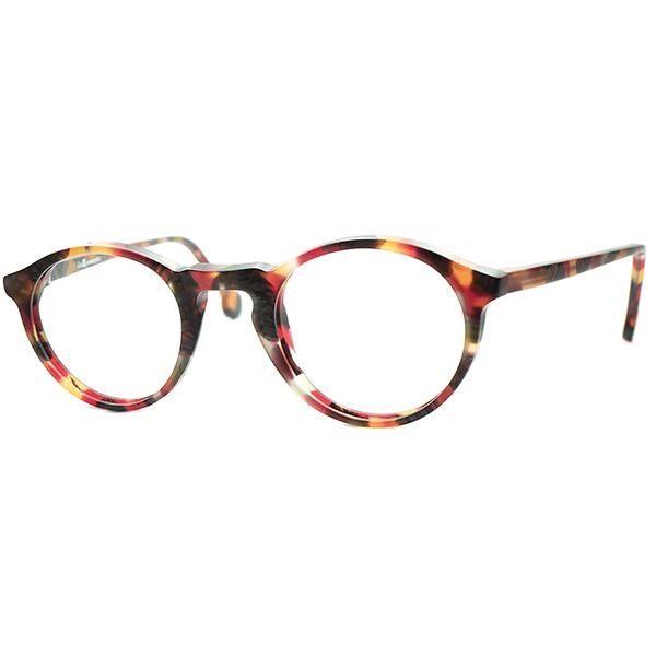 WARHOLオマージュモデル MODENRN 全商品オープニング価格 ARTインスパイア1990s デッドストック ITALY製 l.a.Eyeworks アイワークス KEYHOLE 激安挑戦中 a6883 眼鏡#160;メガネ ビンテージ#160;ヴィンテージ ボストン極上シルエット実寸42 24