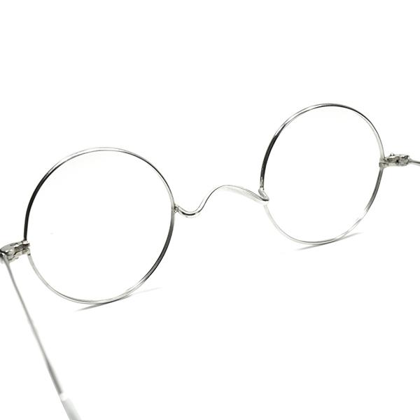 質感 シルエット継承 実用的超GOOD SIZEアップデート1950s60sフランス製 デッドストック FRAME FRANCE フレーム フランス 一山式ブリッジ正円ラウンド丸眼鏡 丸メガネ ビンテージ160;ヴィンテージ 眼鏡160;メガネ a6899ON0wmvn8