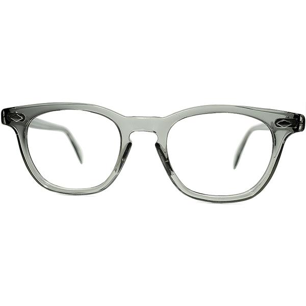 AMERICAN ARNEL AO デッド同等TOPランク 眼鏡メガネ OPTICAL ビンテージヴィンテージ アメリカンオプティカル製 a7120 アーネル系ホーンリムsize46/20 USミリタリー官給ミルスペック S級個体1950s-60s