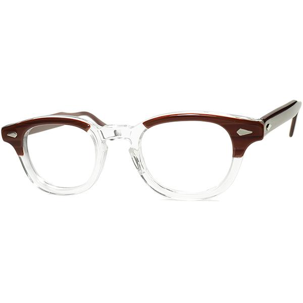 No1人気モデル枯渇ゴールデンサイズ 1950s-60s デッドストック USA製 オリジナル TART OPTICAL タートオプティカル ARNEL タート アーネル 44/22 REDWOOD ビンテージヴィンテージ 眼鏡メガネ a7135