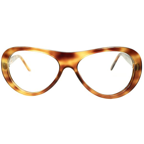 ブルース・リー同型SHAPE デイリー向け希少個体 1960sデッドストックDEADSTOCK FRAME FRANCE フレーム フランス フランス製 UPPER BRIDGE AVIATOR アビエーター ビンテージヴィンテージ 眼鏡メガネ A6516