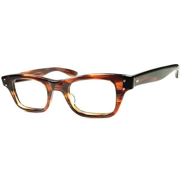 模範的CLASSIC アメリカンウェリントン 未復刻 RAREモデル1950s-60s USA製 デッドストック TART OPTICAL タートオプティカル BOEING ビンテージヴィンテージ 眼鏡メガネ size 44/22 a5896