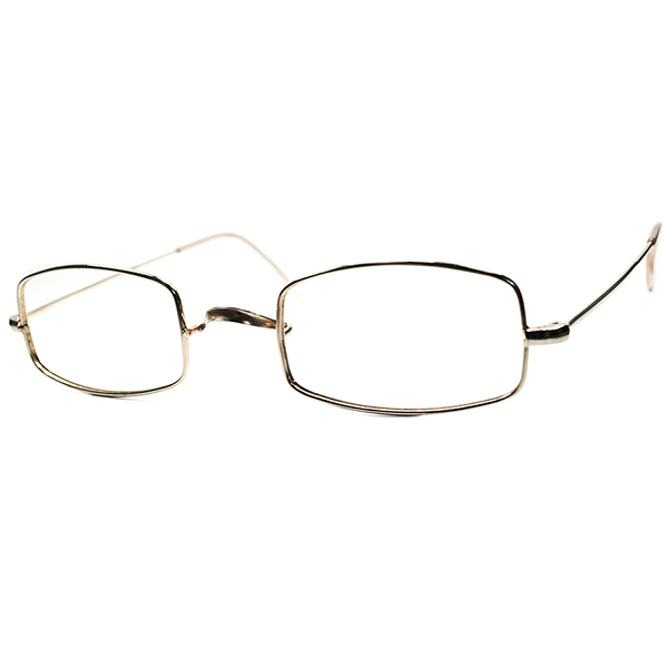 極上肌なじみ RARE DESIGN デッドストック DEADSTOCK 1950s-60s フランス製 FRAME FRANCE フレーム フランス 一山式COPPERメタルxFLESH PINK短縦PENTAGON六角フレーム 48/23 実寸 ビンテージヴィンテージ 眼鏡メガネ a6115
