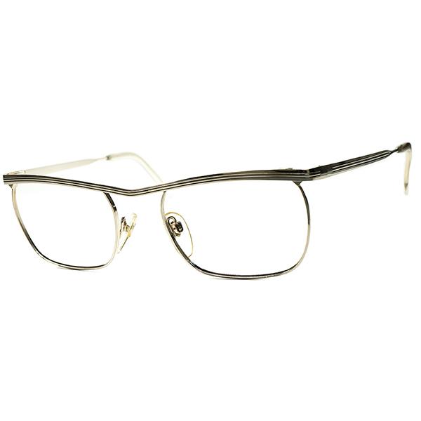 未復刻 OLDヨーロピアンCLASSIC 1960s-70s デッドストックDEADSTOCK W. GERMANY MADE 西ドイツ製 RODENSTOCKローデンストックCANTOR 1/20 12K本金張 size52/20 ビンテージ 眼鏡 メガネ a6140