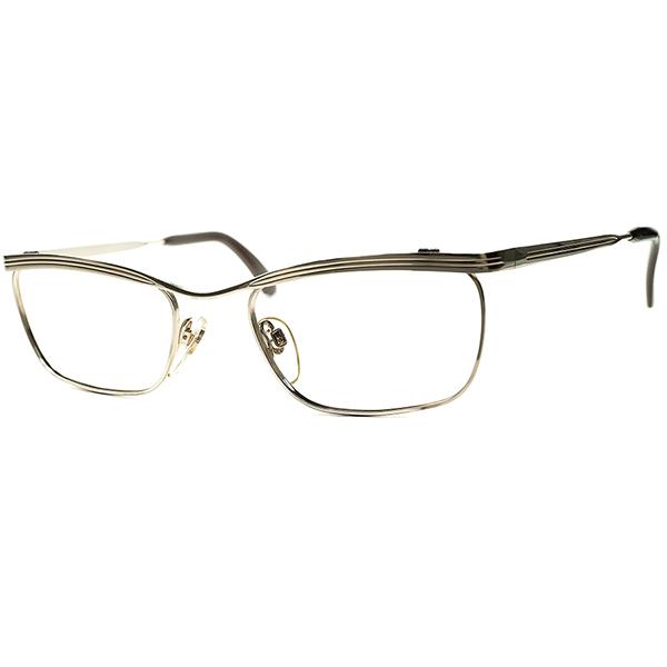 日本人好み短縦幅 レアモデル 1960s-70s デッドストック DEADSTOCK WEST GERMANY MADE 西ドイツ製 RODENSTOCK ローデンストックBEATRICE 1/20 12K本金張 ビンテージヴィンテージ 眼鏡メガネ size50/18 a6189
