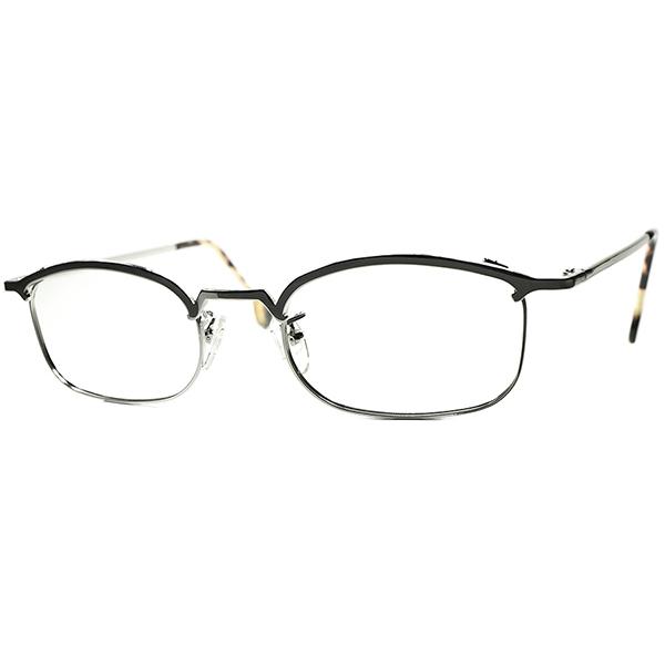 実用的シンプル&ベーシック 1990s デッドストック DEADSTOCK ITALY製 l.a.Eyeworks アイワークス AMOR STYLE INSPIRE ウェリントン系 ブロータイプ ビンテージヴィンテージ 眼鏡メガネ a6231