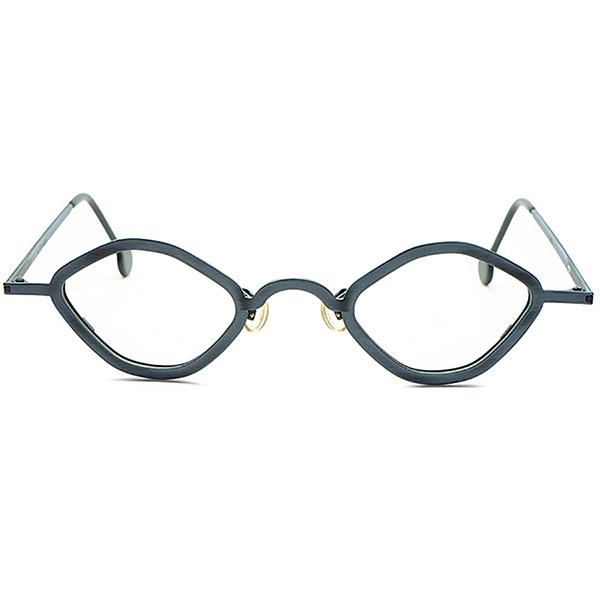 ANTIQUEベース実用的 アップデート 快適SIZE 1990s イタリア製 デッドストック DEADSTOCK l.a.Eyeworks アイワークス小径 EYE 変形 オクタゴン ビンテージヴィンテージ 眼鏡メガネ a6395