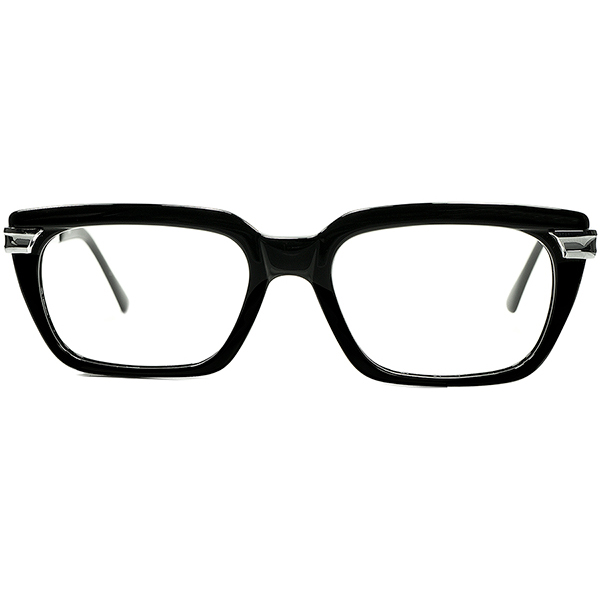 超Good-Looking マニアック仕様 1960s-70s 西ドイツ製 オリジナル デッドストックDEADSTOCK RODENSTOCK ローデンストック PERSYコンビウェリントン BLACK xSILVER ビンテージヴィンテージ 眼鏡メガネ A6558