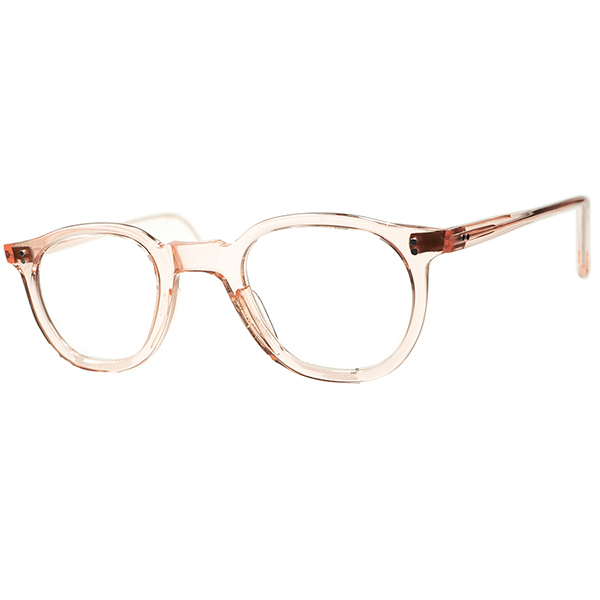 ハンサムSWEET MASK 秀逸シルエットGOODSIZE個体 1950sフランス製 デッドストック DEADSTOCK FRAME FRANCE フレーム フランス ティアドロップ変形PANTO FLESH PINK ビンテージヴィンテージ 眼鏡メガネ A6579
