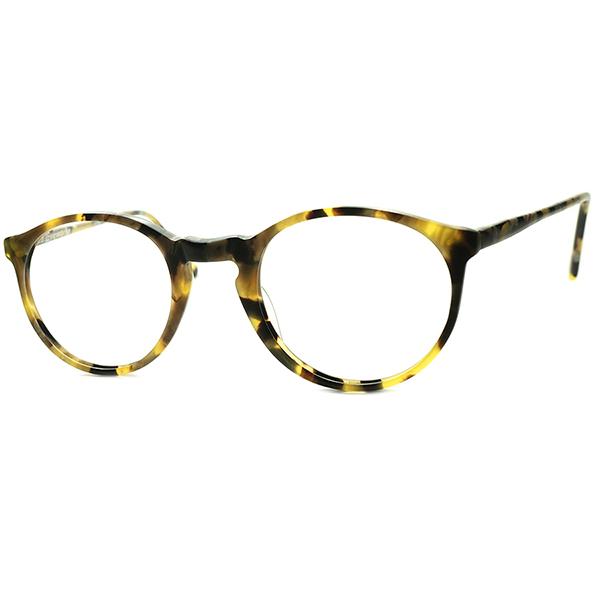 初期作品FRAME FRANCE時代 デイリー向け 良質SIMPLE DESIGN1980s フランス製 デッドストック フレーム フランス DEADSTOCK l.a.Eyeworksアイワークス KEY HOLE ボストン ビンテージヴィンテージ 眼鏡メガネ A6617