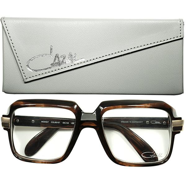 伝説的No.1アイコン CASE付極上DEADSTOCK デッドストック1980s オリジナル MADE IN WEST GERMANY 西ドイツ製 CAZAL カザール mod.607 球数極少サイズ54/18 ビンテージヴィンテージ 眼鏡メガネ a6620