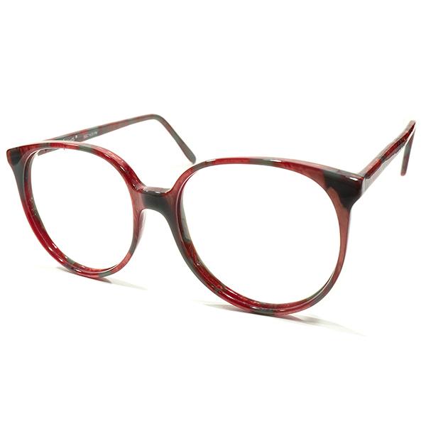 純日本的NAPORITANカラー デッドストック 1980s 英国製 MADE IN ENGLAND オリバーゴールドスミス OLIVER GOLDSMITH 赤×緑 ビッグ ボストンフレーム BOSTON ビンテージヴィンテージ 眼鏡メガネ サングラス A4045