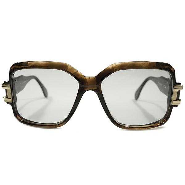 KING OF CAZAL デッドストック 1980s 西ドイツ製 MADE IN WEST GERMANY カザール CAZAL mod623 オリジナル SMOKY AMBER×GOLD 日本製デッドストックガラスレンズ入 サングラス ヴィンテージ 眼鏡 メガネ A4057