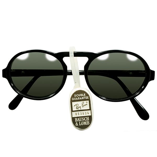 1992スペシャルMODEL デッドストック 1980s-1990s USA製 MADE IN USA ボシュロム レイバン B&L RAY-BAN UPPER BRIDGE アンティークSTYLE 楕円形 OVALラウンド 丸眼鏡 ヴィンテージ メガネ 眼鏡 サングラス A4262