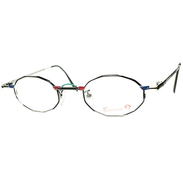 BAUHAUS on アイウェアデザイン 1980s-90s Italy製 デッドストック Casanova カサノヴァ コンポジション 十二角形 DODECAGON ビンテージヴィンテージ 眼鏡メガネ a6136